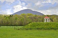 Nachoochee Indian Mound Stock Photo