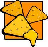 nachos сыра бесплатная иллюстрация
