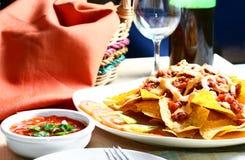 nachos arkivfoto