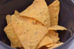 Nachos Foto de archivo libre de regalías
