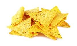 μεξικάνικα nachos Στοκ εικόνα με δικαίωμα ελεύθερης χρήσης