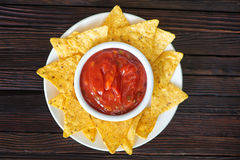 Nachos Photographie stock