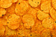 Nachos chips background Royalty Free Stock Images