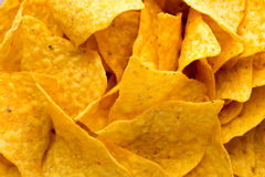 Nachos chips. Corn chips on the bowl. Royalty Free Stock Image