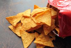 Nachos chips Royalty Free Stock Photography