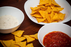 Nachos chips Royalty Free Stock Photos