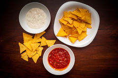 Nachos chips Stock Photography