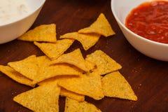 Nachos chips Stock Photo
