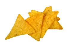 Nachos corn chips Stock Photos
