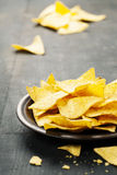 Nachos corn chips Royalty Free Stock Image