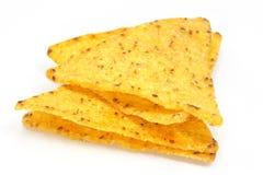 Nachos de fromage Photos libres de droits