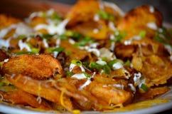 Nachos de la patata Imagenes de archivo