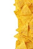 Nachos del maíz Imágenes de archivo libres de regalías