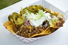 Nachos do taco Imagem de Stock