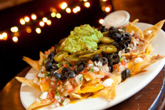Nachos Grande Royalty Free Stock Images