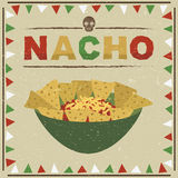 Nachos mexicains Photos stock