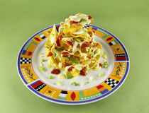 Nachos Stack Royalty Free Stock Photo