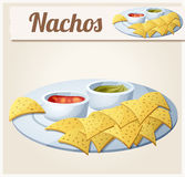 Nachos (Tortilla Chips Royalty Free Stock Photography