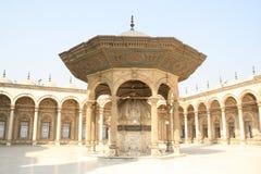 Nachricht in De Mohammed Ali Moskee in Egypte Lizenzfreie Stockfotos