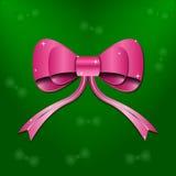 Nachricht des Geschenks Bow Stockbild
