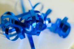 Nachricht des Geschenks Bow Lizenzfreie Stockfotografie