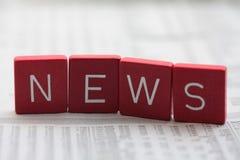 Nachrichten! Lizenzfreie Stockfotos