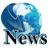 Nachrichten stockfoto
