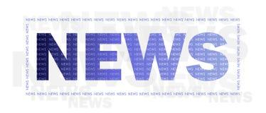 Nachrichten Stockbild