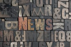 Nachrichten Stockfotos