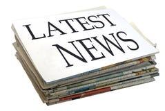 Nachrichten lizenzfreie stockfotos