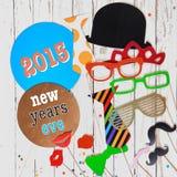 2015 Nachrichten-Jahr-Eve-Karnevalshintergrund Stockbild