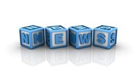 Nachrichten-Modewort stock abbildung