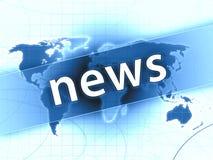 Nachrichtenabbildung Lizenzfreie Stockfotos