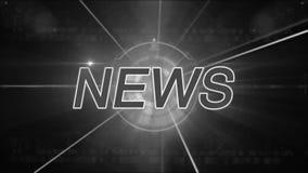 Nachrichtenhintergrund generisch stock footage