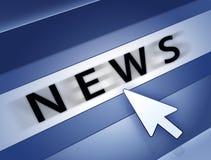 Nachrichtenkonzept Lizenzfreies Stockbild