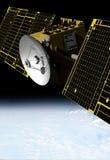 Nachrichtensatellit Stockbilder