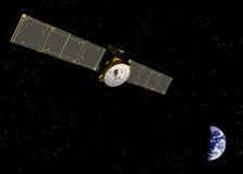 Nachrichtensatellit stockfotos
