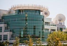 Nachrichtensendergebäude Lizenzfreies Stockfoto