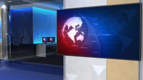 Nachrichtenstudio 101C3 (Stoß) lizenzfreie abbildung