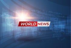 Nachrichtenvektorhintergrund EPS10 Stockbilder