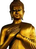 Nachsinnen über von Buddha Lizenzfreie Stockfotos