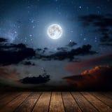 nacht Stock Foto