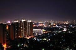Nacht in Bangkok, Stock Afbeeldingen