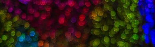 Nacht beleuchtet bokeh Hintergrund, defocused bokeh Lichter, unscharfes b Lizenzfreies Stockbild