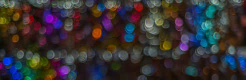 Nacht beleuchtet bokeh Hintergrund, defocused bokeh Lichter, unscharfes b Stockfotografie