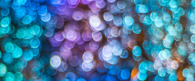 Nacht beleuchtet bokeh Hintergrund, defocused bokeh Lichter, unscharfes b Stockfoto