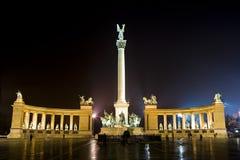 Nacht in Boedapest Stock Fotografie