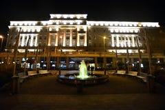 Nacht Bratislava Lizenzfreies Stockbild