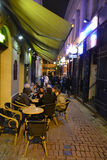 Nacht Brussel Stock Afbeeldingen