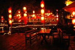 Nacht China Stock Afbeelding
